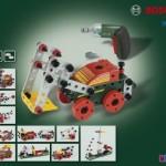 おもちゃのくるま組み立てセットと電動ドライバー