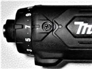 マキタ-ペン型電動ドライバドリル-トルク設定ダイヤル