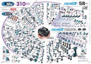 2021-04-マキタ18Vシリーズ-モデル数