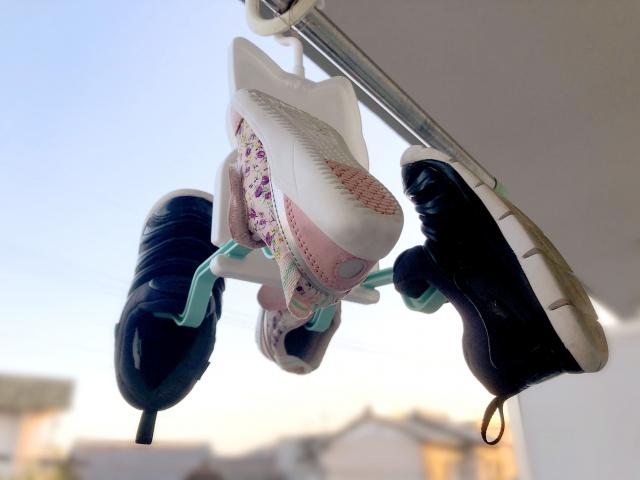 子供靴-乾かない