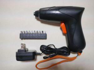 FIXA スクリュードライバー 3.6V3-6v