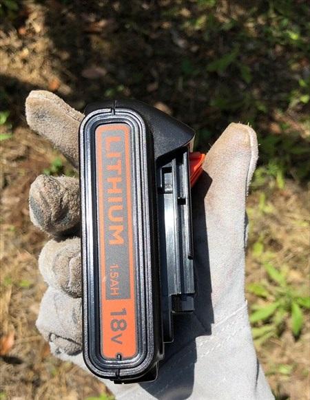 ブラックアンドデッカー バッテリー 1.5Ah