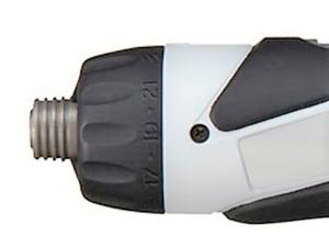 パナソニック充電スティックドライバー-EZ7410-トルク設定ダイヤル