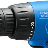 リョービ-ドライバドリル-MDD-10-【初心者用-コード式】-20段トルククラッチ