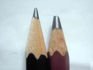 鉛筆_6BとHBの芯の太さの違い1