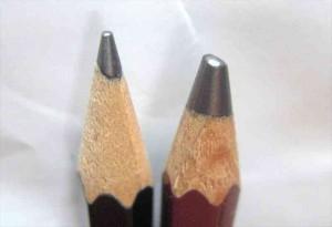 鉛筆_6BとHBの芯の太さの違い2